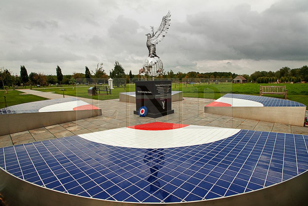 © Licensed to London News Pictures. 17/10/2016. Alrewas  Staffordshire England  <br /> Royal Airforce Association Memorial can be found at the National Memorial  Arboretum <br /> Rob Leyland/LNP