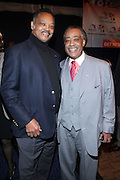 """l to r: Rev. Jesse Jackson and Rev. Al Sharpton at the opening reception of The 12th Annual RainbowPUSH Wall Street Project Economic Summit """" Fallout From The Bailout: A New Day in Washington """""""