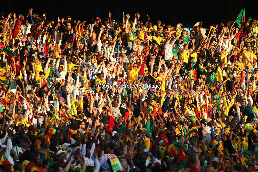 General view, <br /> JUNE 13, 2010 - Football : <br /> 2010 FIFA World Cup South Africa <br /> Group Match -Group D- <br /> between Serbia 0-1 Ghana <br /> at Loftus Versfeld Stadium, Pretoria, South Africa. <br /> (Photo by YUTAKA/AFLO SPORT) [1040]
