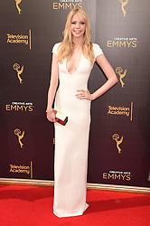Riki Lindhome bei der Ankunft zur Verleihung der Creative Arts Emmy Awards in Los Angeles / 110916 <br /> <br /> *** Arrivals at the Creative Arts Emmy Awards in Los Angeles, September 11, 2016 ***