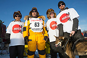 Team Musher Michi Konno at the Iditarod Race 2018.<br /> <br /> Photographer: Christina Sjögren<br /> Copyright 2018, All Rights Reserved