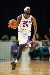 November 19, 2017 - Reno, Nevada, U.S - Reno Bighorns Forward JAKARR SAMPSON (29) during the NBA G-League Basketball game between the Reno Bighorns and the Long Island Nets at the Reno Events Center in Reno, Nevada. (Credit Image: © Jeff Mulvihill via ZUMA Wire)