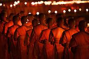 Preparation of Makha Bucha Day celebrations at Dhammakaya Temple.