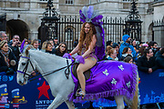 All the Queens Horses - The New Years Day parade passes through central London.