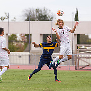 22 October 2016: The San Diego State Aztecs men's soccer team played host to Cal Sunday afternoon on the SDSU Sports Deck. The Aztecs beat the Bears 1-0. www.sdsuaztecphotos.com