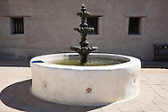 Water Fountain, Mission San Juan Capistrano, California