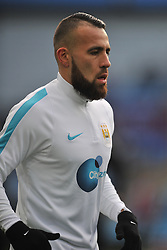 NICOLAS OTAMENDI MANCHESTER CITY, Aston Villa v Manchester City, The Emirates FA Cup 4th Round Villa Park Saturday 30th January 2016