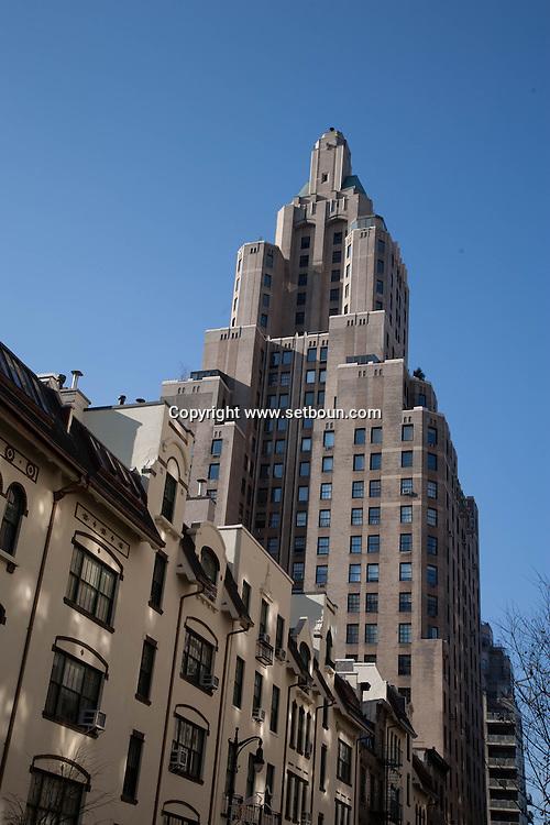 New york university area ,   New York - United states / quartier de l universite de New york, Manhattan  New York - Etats-unis