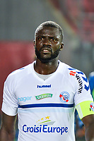 Kader Mangane of Strasbourg during the Ligue 1 match between Dijon FCO and Strasbourg at Stade Gaston Gerard on September 30, 2017 in Dijon, . (Photo by Vincent Poyer/Icon Sport)