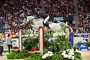 Steve Guerdat - Clair II<br /> Rolex FEI World Cup Final 2013<br /> © DigiShots
