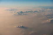 Aerial of Himalayas<br /> Assam<br /> North East India