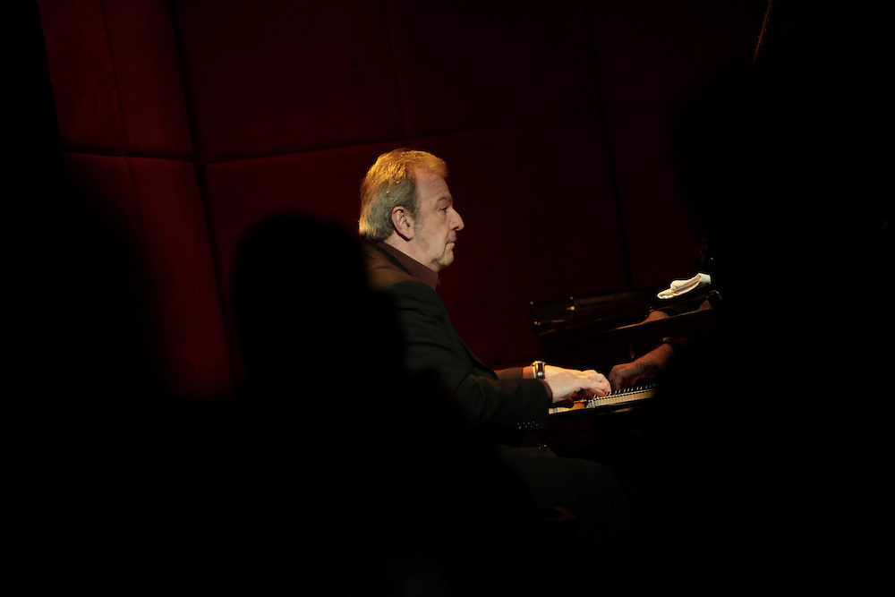Pianist Pablo Ziegler performs at Jazz Standard on December 10,  2009 in New York City. photo by Joe Kohen for The New York Times