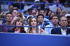 Celebs at US Tennis Open - 8 Sep 2017