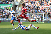 Middlesbrough defender George Friend during the Sky Bet Championship match between Reading and Middlesbrough at the Madejski Stadium, Reading, England on 3 October 2015. Photo by Jemma Phillips.