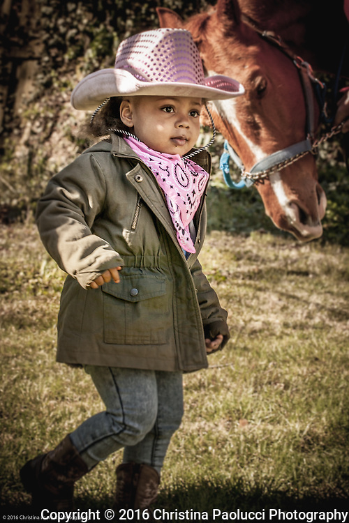A western style birthday party for Marley Pleasant was held Sunday April 3rd, 2016 on Stratford Way in Eastgate. (Christina Paolucci, photographer)