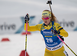 11.01.2018, Chiemgau Arena, Ruhpolding, GER, IBU Weltcup Biathlon, Ruhpolding, Einzel, Damen, im Bild Mona BRORSSON (SWE) // during Ladies Individual of BMW IBU Biathlon World Cup at the Chiemgau Arena in Ruhpolding, Germany on 2018/01/11. EXPA Pictures © 2018, PhotoCredit: EXPA/ Ernst Wukits
