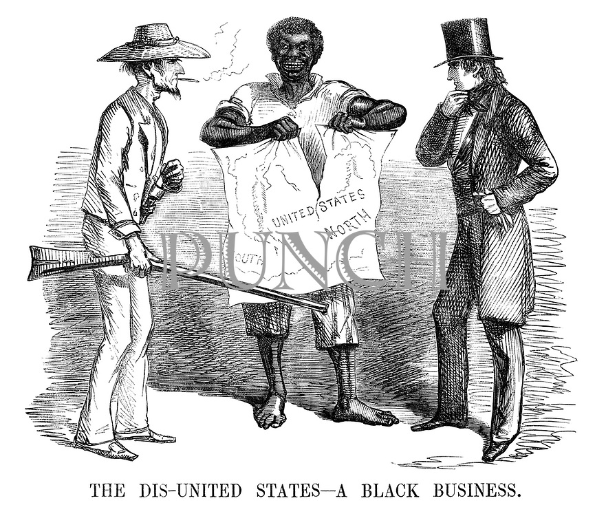 The Dis-united States - a Black Business.