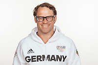 Marco Welz poses at a photocall during the preparations for the Olympic Games in Rio at the Emmich Cambrai Barracks in Hanover, Germany, taken on 12/07/16 | usage worldwide