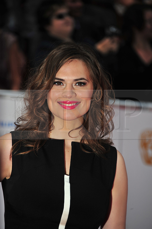 © licensed to London News Pictures. London, UK  22/05/11 Hayley Attwell attends the BAFTA Television Awards at The Grosvenor Hotel in London . Please see special instructions for usage rates. Photo credit should read AlanRoxborough/LNP