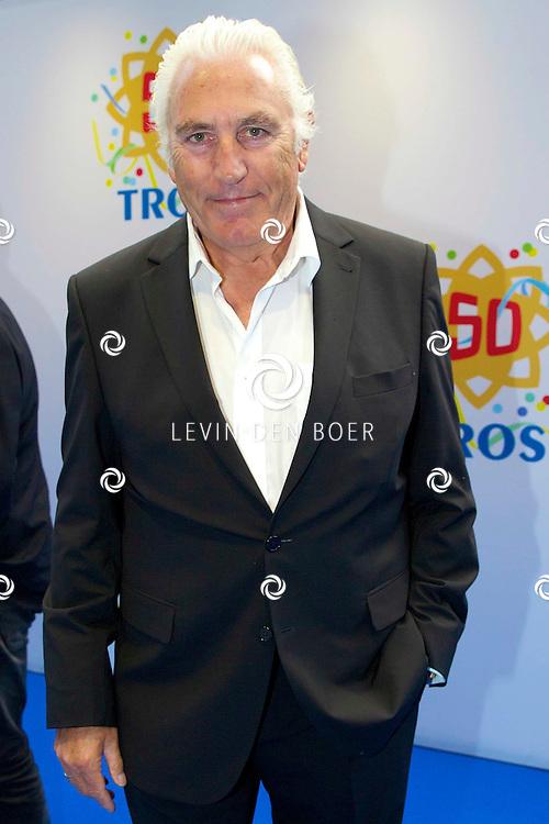 AMSTERDAM - 50 Jaar Tros is gevierd in theater Carré met heel veel bekende Nederlanders uit de Tros wereld. Met hier op de foto  Marco Bakker. FOTO LEVIN DEN BOER - PERSFOTO.NU