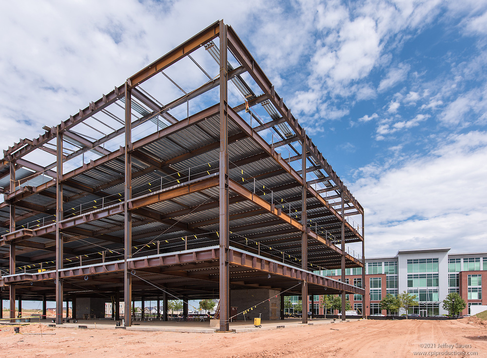 Construction exterior image of in Maple Lawn Corporate Center in Marylad by Jeffrey Sauers of Commercial Photographics, Architectural Photo Artistry in Washington DC, Virginia to Florida and PA to New England
