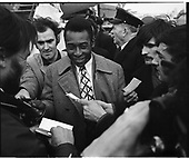 Pele, Dublin Airport, May 1979