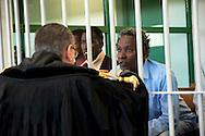 Roma 23  Marzo 2012 .Inizia il processo a nove somali nell'aula bunker di Rebibbia,accusati di pirateria sequestro di persona per finalità di terrorismo, detenzione di armi da guerra e danneggiamento con l'aggravante della finalità di terrorismo. Il dieci ottobre 2011 assaltarono la nave italiana portacontainer Montecristo al largo della Somalia, tenendo prigionieri nel golfo di Aden,  23 uomini dell'equipaggio. Furono catturati dalle forze armate inglesi...