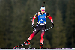 Synnoeve Solemdal (NOR) during Women 15km Individual at day 5 of IBU Biathlon World Cup 2018/19 Pokljuka, on December 6, 2018 in Rudno polje, Pokljuka, Pokljuka, Slovenia. Photo by Ziga Zupan / Sportida