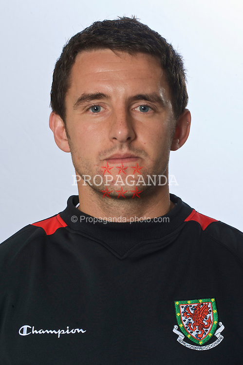 Wales' physiotherapist Richard Buchanan.