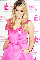 Stacey Solomon, Pink Ribbon Ball 2013, The Dorchester Hotel, London UK, 12 October 2013, (Photo by Brett D. Cove)