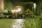 29.09.2006 Warsaw repairs of Srednicowy train tunnel under Warsaw centre photo Piotr Gesicki