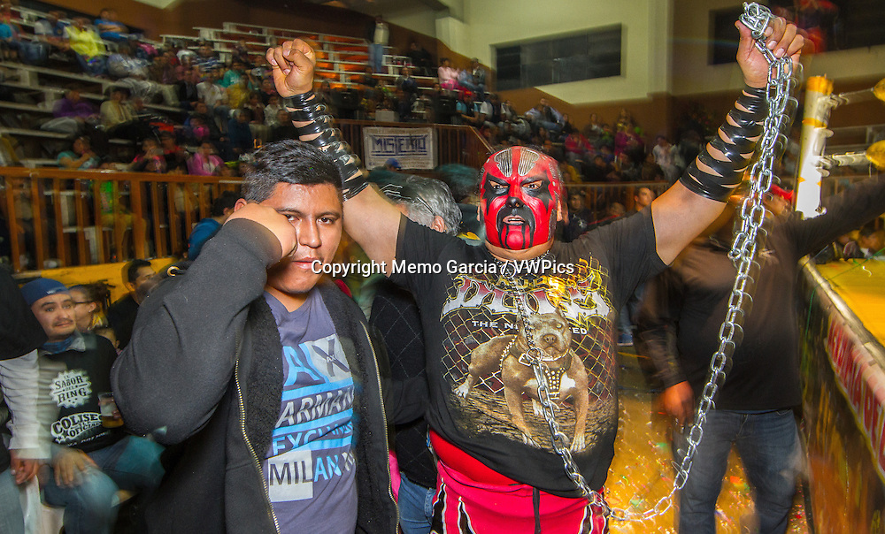 "Free Wrestling in Mexico is huge, this ""sport"" or ""spectacle"" gets to all kink of people and eages. Wrestelers become anonymous heros behind their"