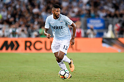 August 13, 2017 - Rome, Italy - Wallace of Lazio during the Italian Supercup Final match between Juventus and Lazio at Stadio Olimpico, Rome, Italy on 13 August 2017. (Credit Image: © Giuseppe Maffia/NurPhoto via ZUMA Press)