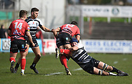 Pontypridd Alun Lawrence<br /> Photographer Mike Jones/Replay Images<br /> <br /> Aberavon RFC v Pontypridd RFC <br /> Principality Premiership<br /> Saturday 14th April 2018<br /> Talbot Athletic Ground<br /> <br /> World Copyright © Replay Images . All rights reserved. info@replayimages.co.uk - http://replayimages.co.uk