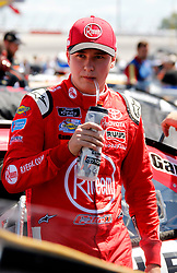 September 1, 2018 - Darlington, SC, U.S. - DARLINGTON, SC - SEPTEMBER 01: Christopher Bell, Joe Gibbs Racing, Toyota Camry Rheem (20) during the running of the 36th annual Sport Clips Haircuts VFW 200 on Saturday September 1, 2018 at Darlington Raceway in Darlington South Carolina (Photo by Jeff Robinson/Icon Sportswire) (Credit Image: © Jeff Robinson/Icon SMI via ZUMA Press)