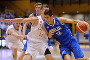 LIGNANO SABBIADORO, 14 LUGLIO 2015<br /> BASKET, EUROPEO MASCHILE UNDER 20<br /> ITALIA-LETTONIA<br /> NELLA FOTO: Diego Flaccadori<br /> FOTO FIBA EUROPE/CASTORIA