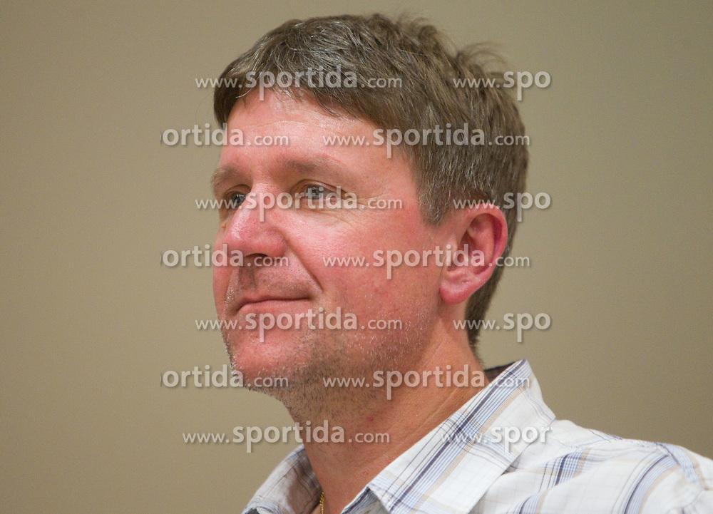 Gorazd Kuznik of NK Triglav Kranj at PrvaLiga draw before new football season 2011/2012 in Slovenia, on June 23, 2011, in Hotel Kokra, Brdo pri Kranju, Slovenia. (Photo by Vid Ponikvar / Sportida)
