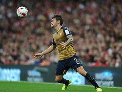 Mathieu Debuchy of Arsenal   - Mandatory by-line: Joe Meredith/JMP - 25/07/2015 - SPORT - FOOTBALL - London,England - Emirates Stadium - Arsenal v Lyon - Emirates Cup