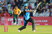 Ben Cox of Worcestershire Rapids batting during the Vitality T20 Blast North Group match between Nottinghamshire County Cricket Club and Worcestershire County Cricket Club at Trent Bridge, West Bridgford, United Kingdon on 18 July 2019.