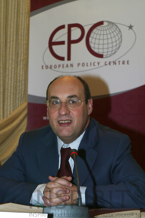 BRUSSELS - BELGIUM - 15 JUNE 2006 -- European Policy Center Advisory Council Meeting--Antonio VITORINO, Vice-President of EPC Advisory Council. PHOTO: ERIK LUNTANG /