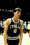 Europei Francia 1983 - Nantes: Marco Bonamico medaglia d'oro