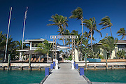 Big Game Resort in Alice Town on the tiny Caribbean island of Bimini, Bahamas.