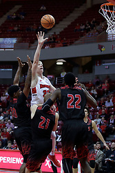 05 November 2017:  Taylor Bruninga during a Lewis College Flyers and Illinois State Redbirds in Redbird Arena, Normal IL