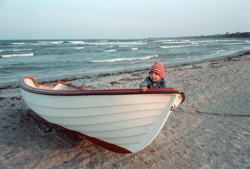 Gotländsk strand 1980