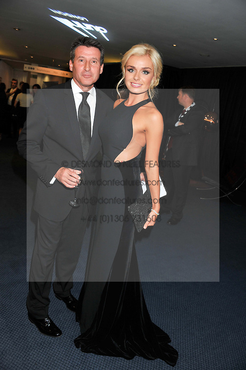 LORD COE and KATHERINE JENKINS at the GQ Men of The Year Awards 2012 held at The Royal Opera House, London on 4th September 2012.
