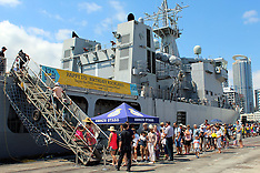 Auckland-City of Sails 175th anniversary attracts crowds to the waterfront
