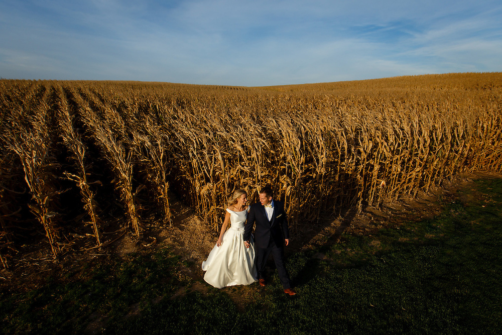 Shannon and David celebrate their wedding in Dryersville, Saturday, Oct. 10, 2015. Photo by Justin Edmonds
