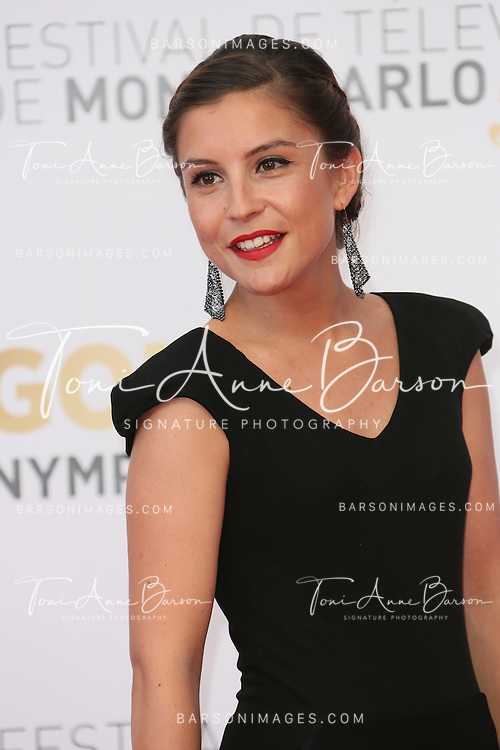 MONTE-CARLO, MONACO - JUNE 11:  Flore Bonaventura attends the Closing Ceremony and Golden Nymph Awards of the 54th Monte Carlo TV Festival on June 11, 2014 in Monte-Carlo, Monaco.  (Photo by Tony Barson/FilmMagic)