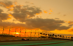 November 26, 2017 - Abu Dhabi, United Arab Emirates - Sergio Perez of Mexico and Force India Team driver goes during the race at Formula One Etihad Airways Abu Dhabi Grand Prix on Nov 26, 2017 in Yas Marina Circuit, Abu Dhabi, UAE. (Credit Image: © Robert Szaniszlo/NurPhoto via ZUMA Press)