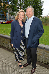 SIMON & FANELIE PHILLIPS at an Evening at The River Cafe in aid of the NSPCC held at The River Cafe, Thames Wharf, Rainville Road, London on 19th June 2016